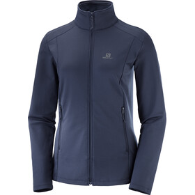 Salomon Discovery LT Jacket Women blue